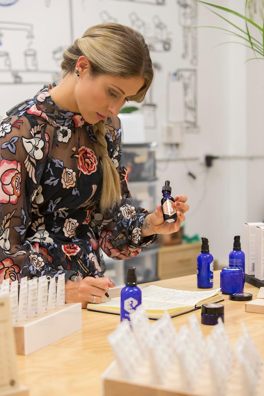 Tailor Skincare founder Sara Corleison