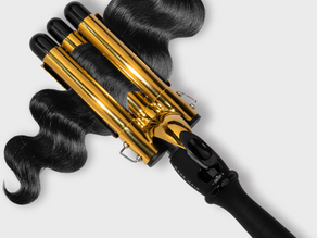 Hair review: My attempt at creating effortless mermaid waves with the Wave by Base wave wand