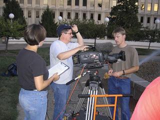Documentary crew captures Capitol at night