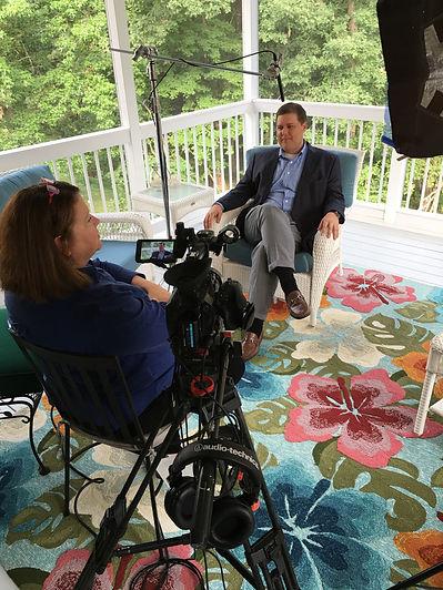 Diana Sole Walko interviewing Todd Becke