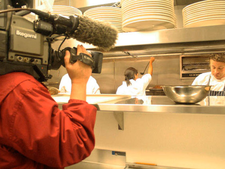 Foodie Alert: Jaime Oliver caught on tape by MotionMasters