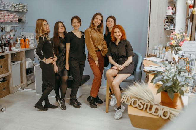 команда салона красоты