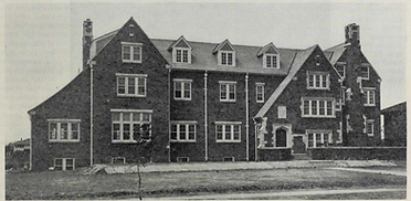 newly built chapter house 1929.PNG