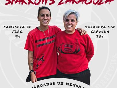 ¡Hazte con tu merchan de Sparrows Zaragoza hasta el 22 de octubre!