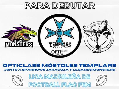 ¡Debutamos este 2021 en la Liga Madrileña de Football Flag Fem!