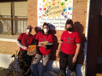 ¡Donación de libros para Ludotecas de Aragón con Zuera Solidario!