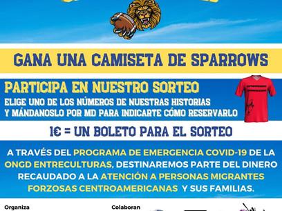 SORTEAMOS UNA CAMISETA DE FLAG DEL C.E. SPARROWS