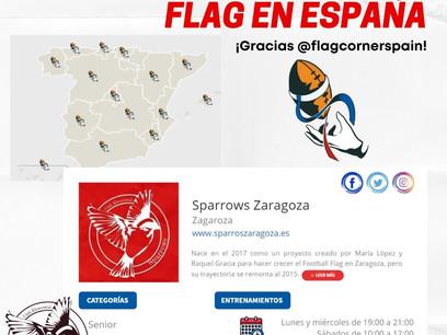 ¡Encuentra tu equipo de Flag en España!