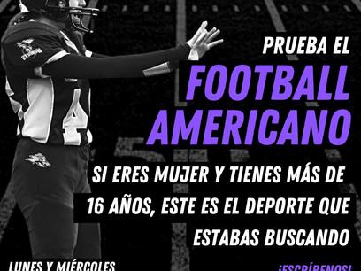 Puertas abiertas | Ven a probar el Footbal Americano Femenino