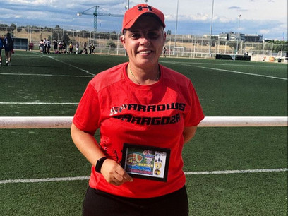 Nuestra Head Coach, Raquel Gracia, ganadora del premio de Integración de la Mujer en el Deporte