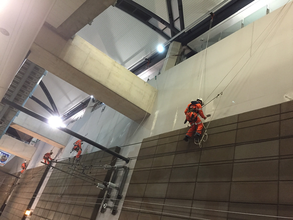 all areas access, rope access, maintenance, shutdown services, electrical works
