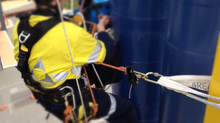 In-service inspections using rope access accross Australia.