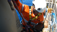 Offshore rope access, load test, inspection and NDT services.
