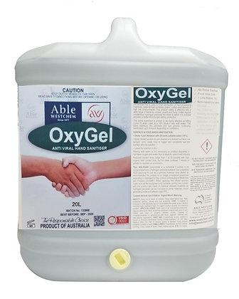 OxyGel - Anti Viral Hand Sanitiser Gel (20L)