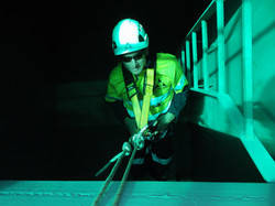 Confined Space Entry.