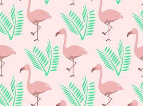 Flamingoes and leaves.jpg