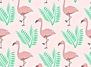 Flamingoes and leaves.jpg