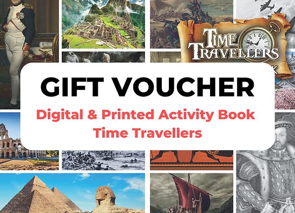 Time Travellers Digital + Print Gift Voucher
