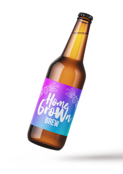 label on bottle
