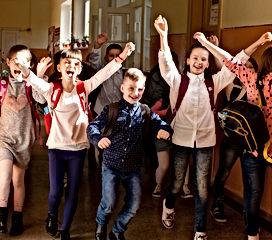 school children leaving.jpg