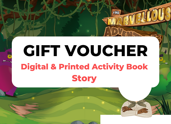 Story Book Digital + Print Gift Voucher