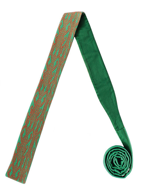 Corbata Verde con Salmón