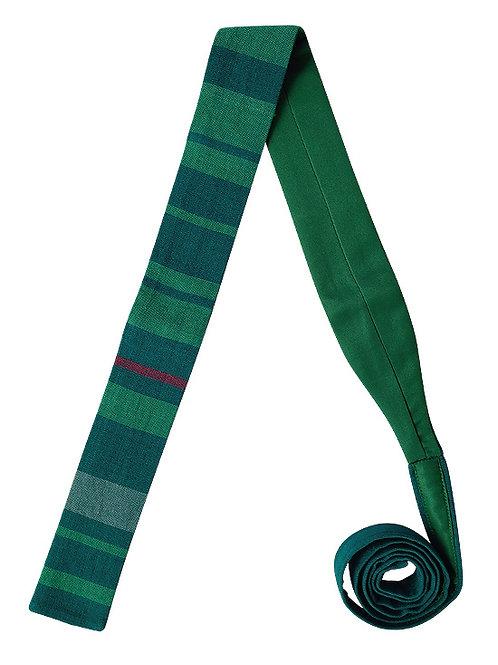 Corbata Rayada Verde