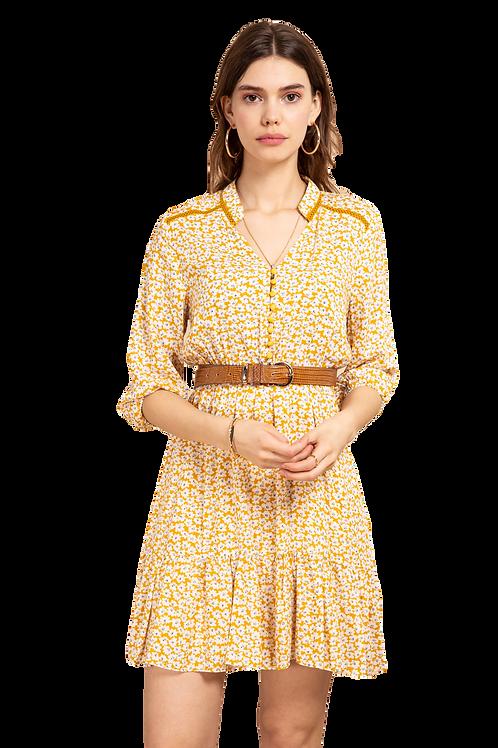 Cotton Dress Flora