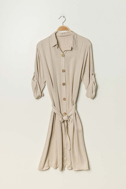Viscose Shirtdress