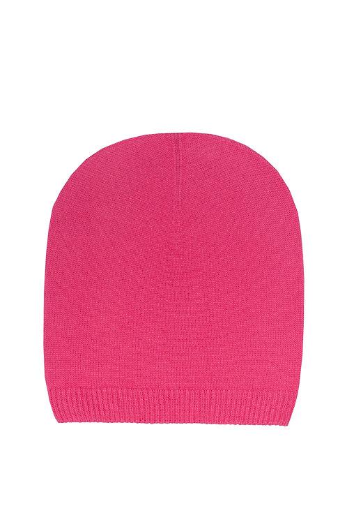 Kaschmirhaube pink