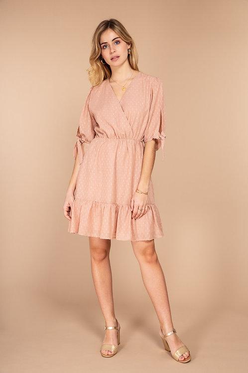 Midi dress rose