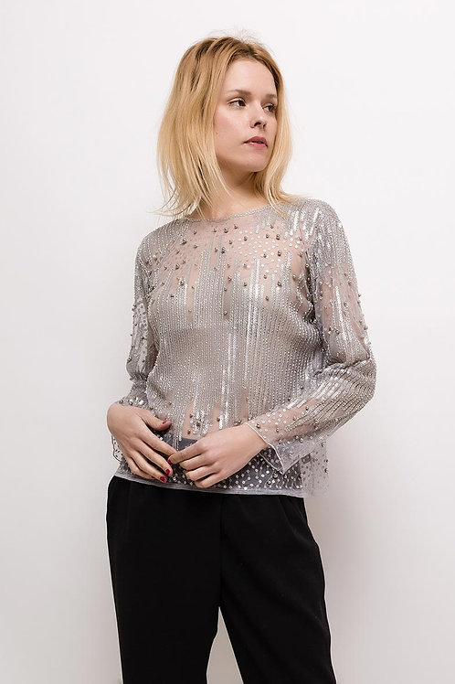 Paillette Blouse