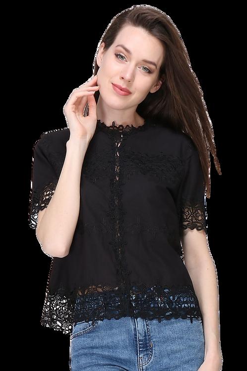 Cotton Lace Blouse