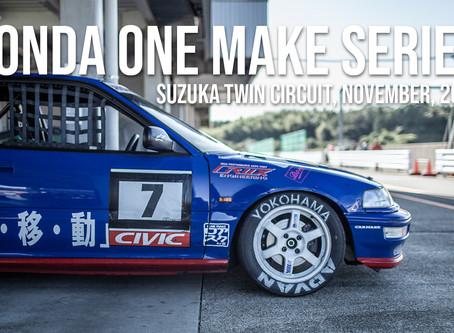 Honda One Make: RD.4 RAW footage.