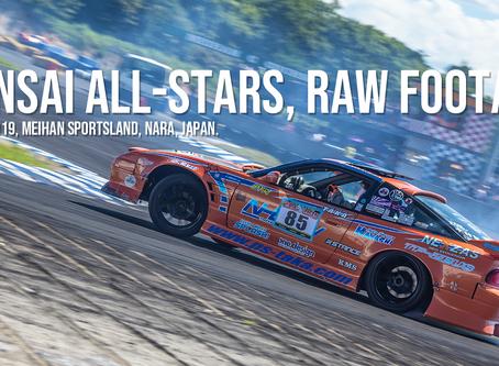 Kansai All-Stars: RAW Footage