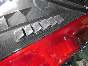 ASLAN :  Carbon Hood Vents (Price includes shipping.)