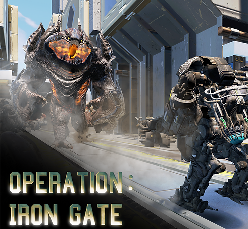 Pumpkin Studio's seated multiplayer VR shooter Iron Gate is distributed by Smilegate in Korea.