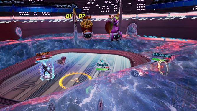 Quantaar Combat Screenshot