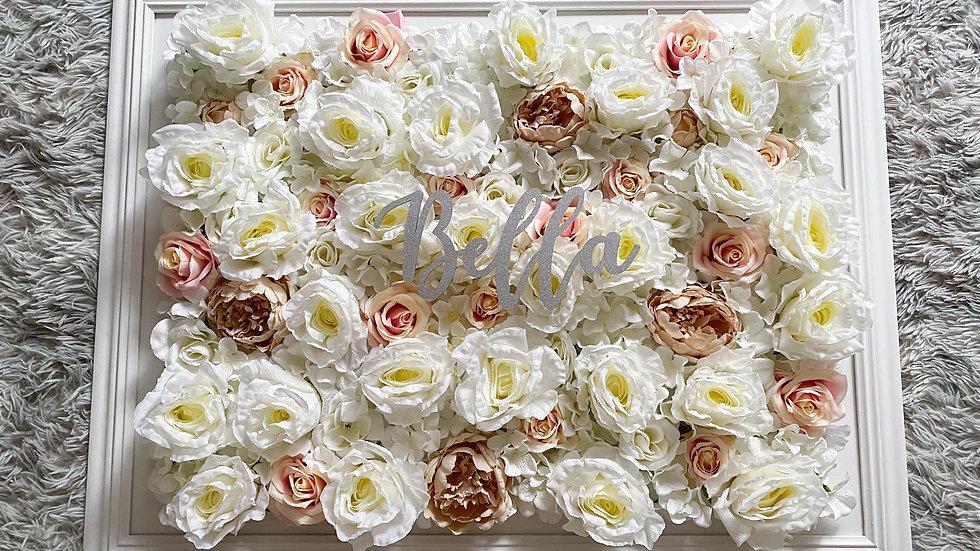 Large floral frame