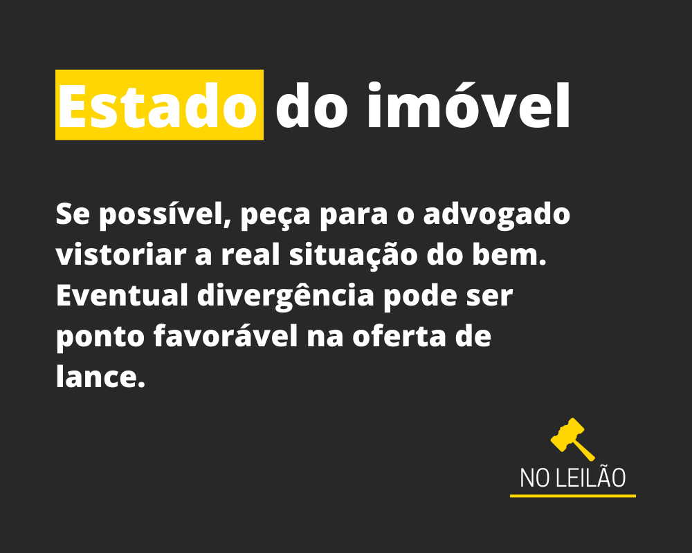 ESTADO DO IMÓVEL