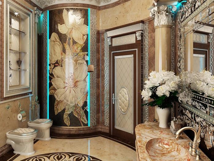 Ванная комната из мрамора – идеальное решение!