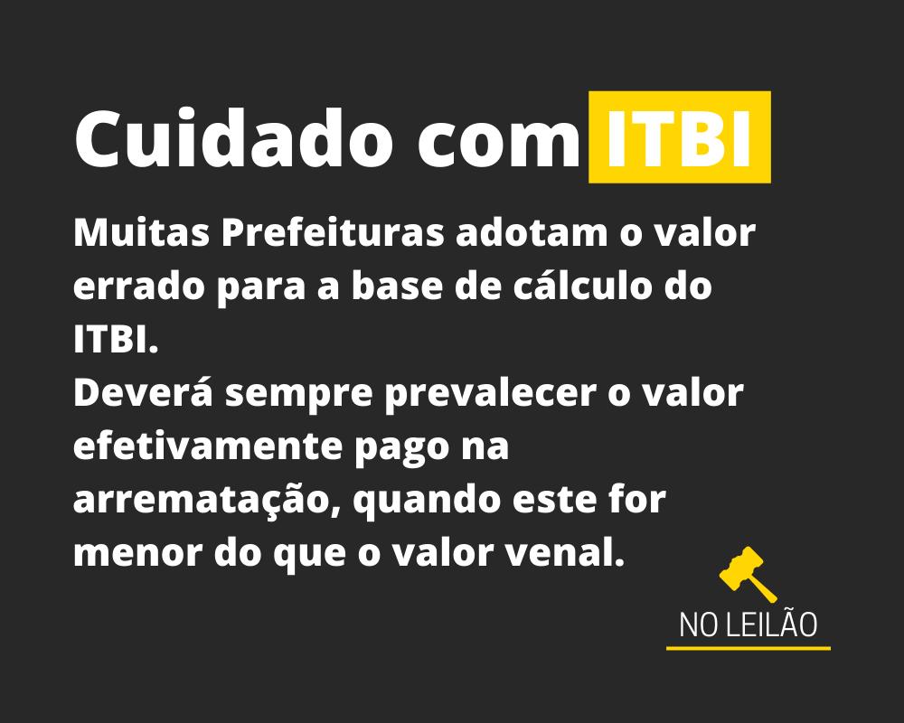 Cuidado com ITBI