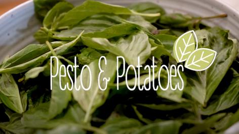 Pesto & Potatoes - Dairy Free Pesto