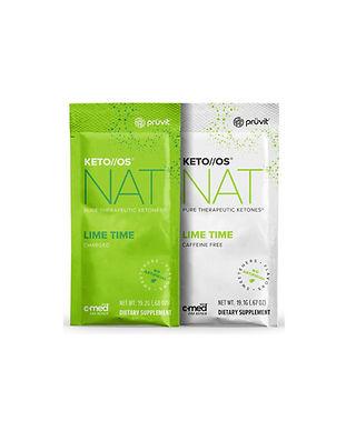 Pruvit's Keto OS NAT Lime Time Ketone