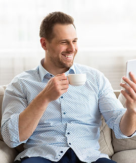 happy-man-using-smart-phone-for-video-ca
