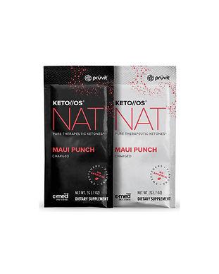 Pruvit's Keto OS NAT Maui Punch Ketones