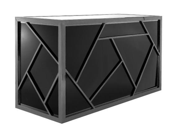 Modern Black Bar