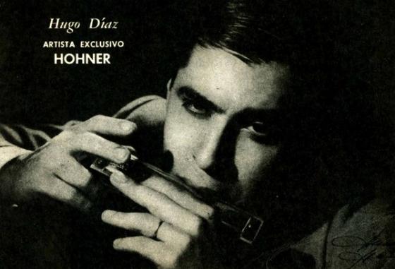 Hugo Diaz - Η φυσαρμόνικα του Tango