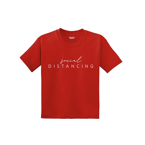 Social Distancing Youth Tee