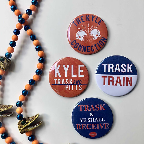 Gator Button Kyle Fan Club Collection